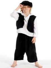 Bert Victorian Chimney Sweep Boys Costume